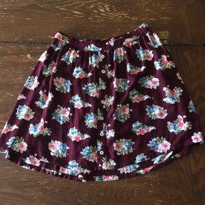 ✨2 for $25✨ Floral print skirt